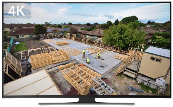 Time lapse for building sites